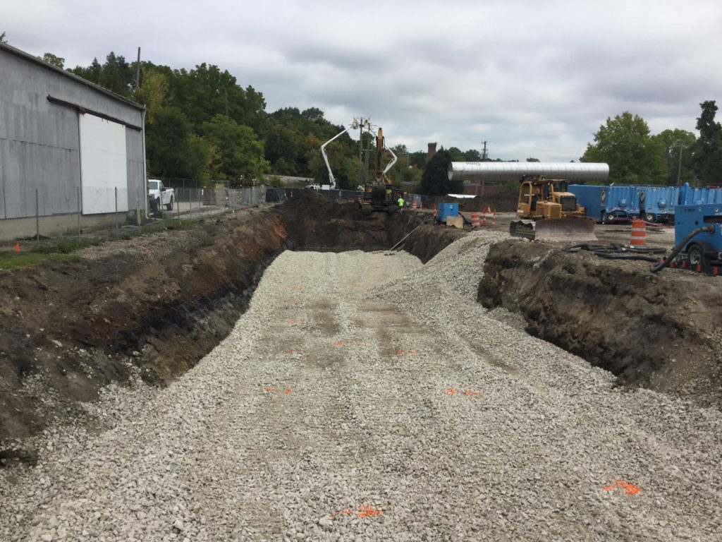 Eagle Excavation project-Kingsley Condominiums