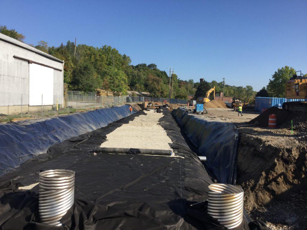 Eagle Excavation project-Kingsley Condominiums