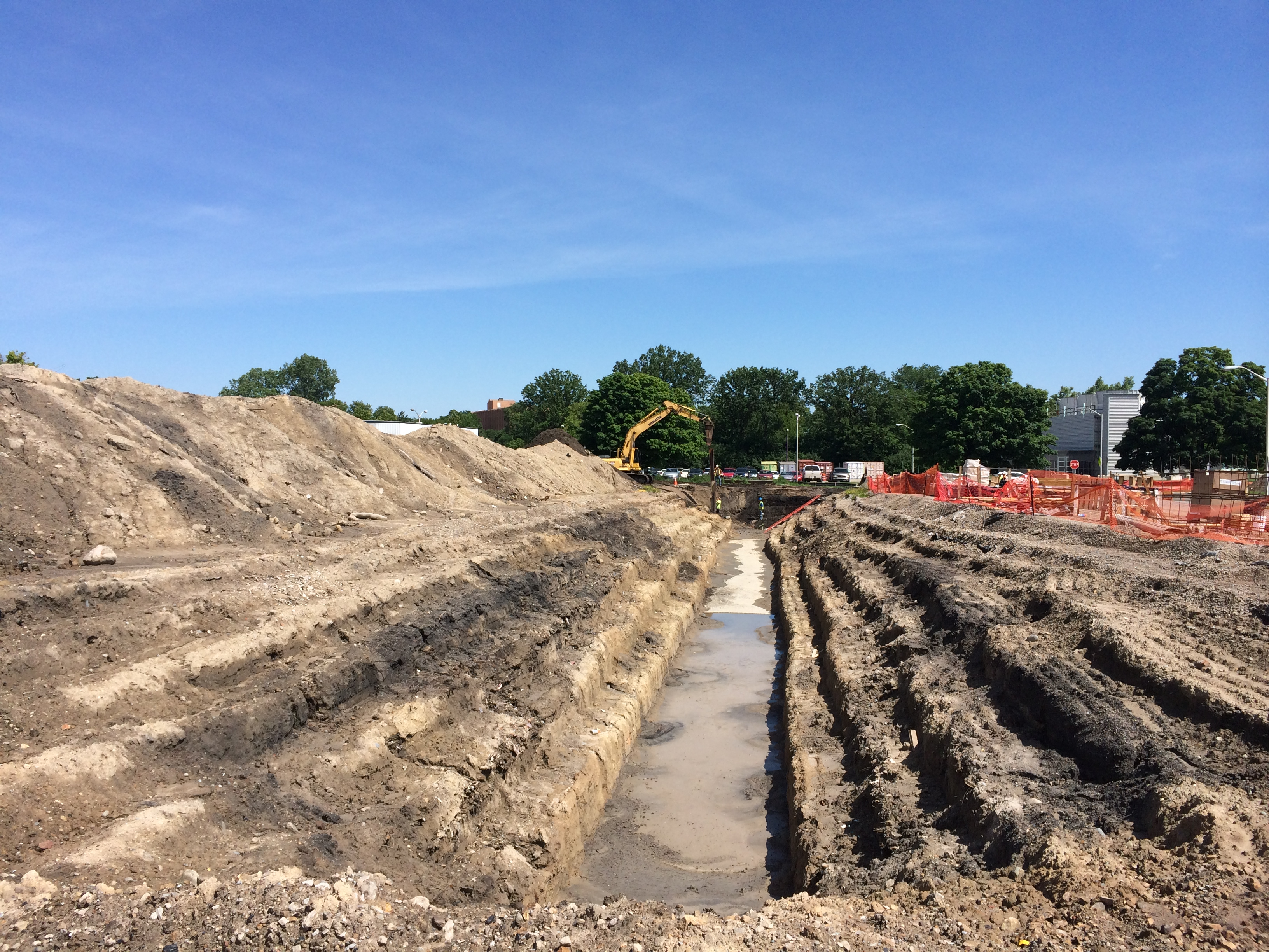 eagle excavation site